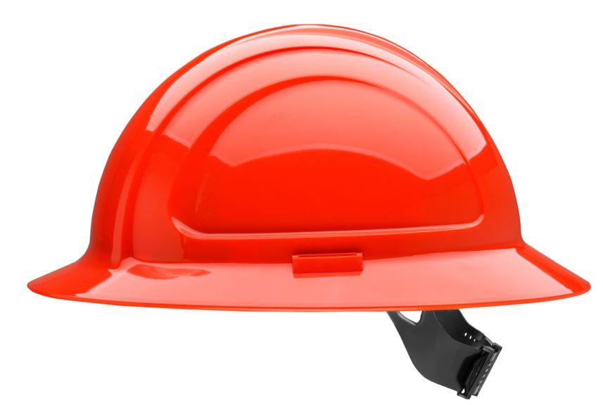 N20050000_N20 North Zone Hi Viz Red Pinlock Hard Hat