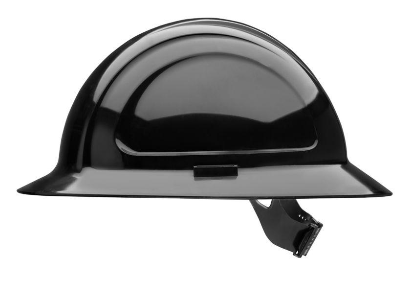 N20110000_N20 North Zone Black Pinlock Hard Hat