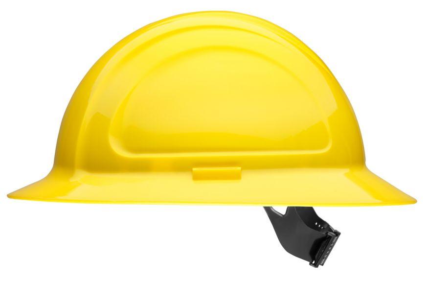 N20440000 North Zone Hard Hat Hi Viz Yellow pinlock