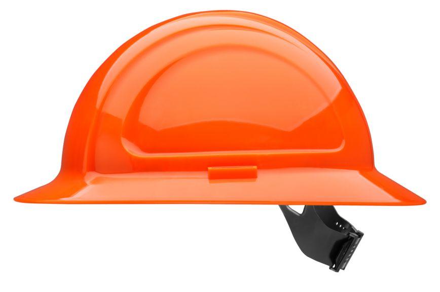 N20460000 North Zone Hard Hat Hi Viz Orange pinlock