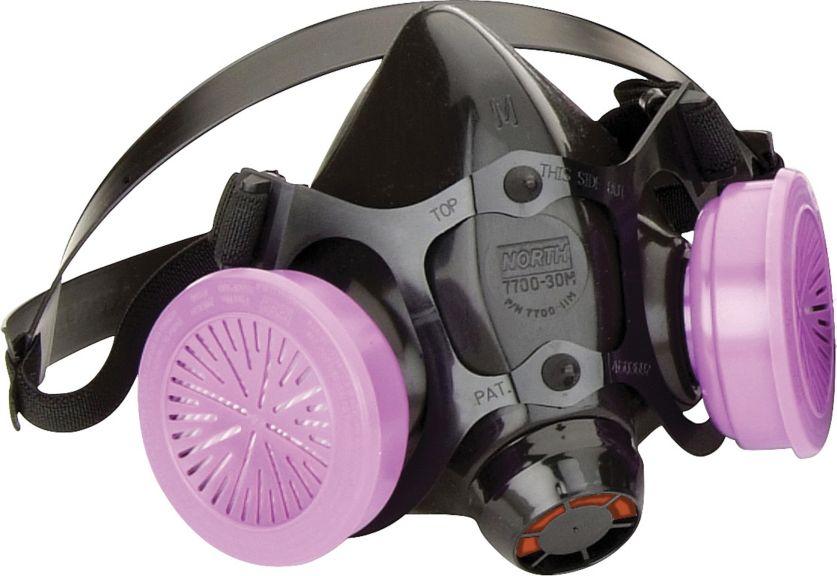 North 7700 Series Premium Silicone Half Mask