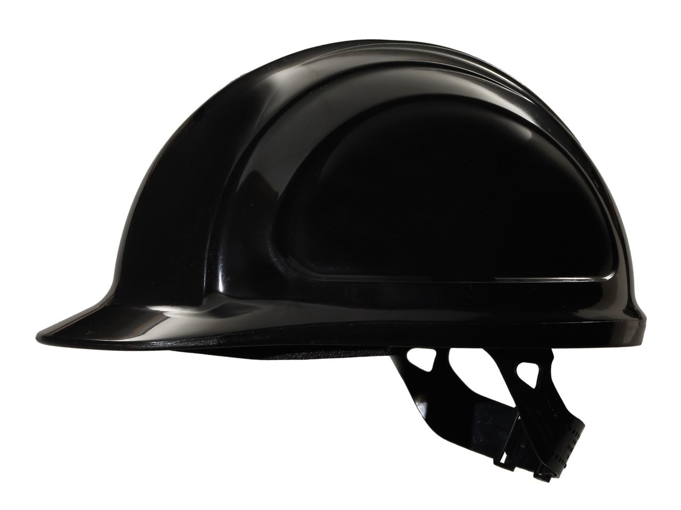 North Zone Hard Hat Black Quick fit
