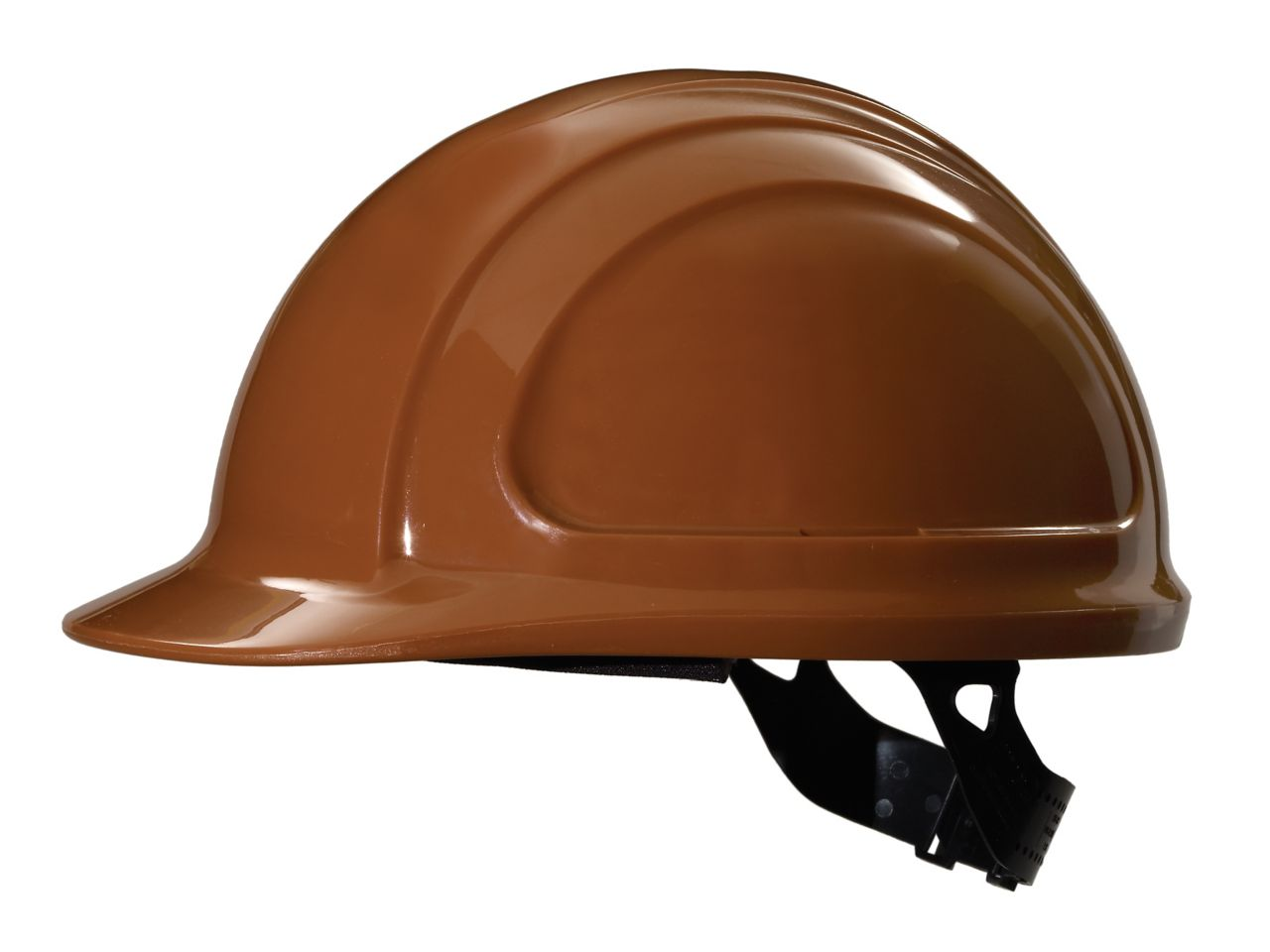 North Zone Hard Hat Brown Quick Fit