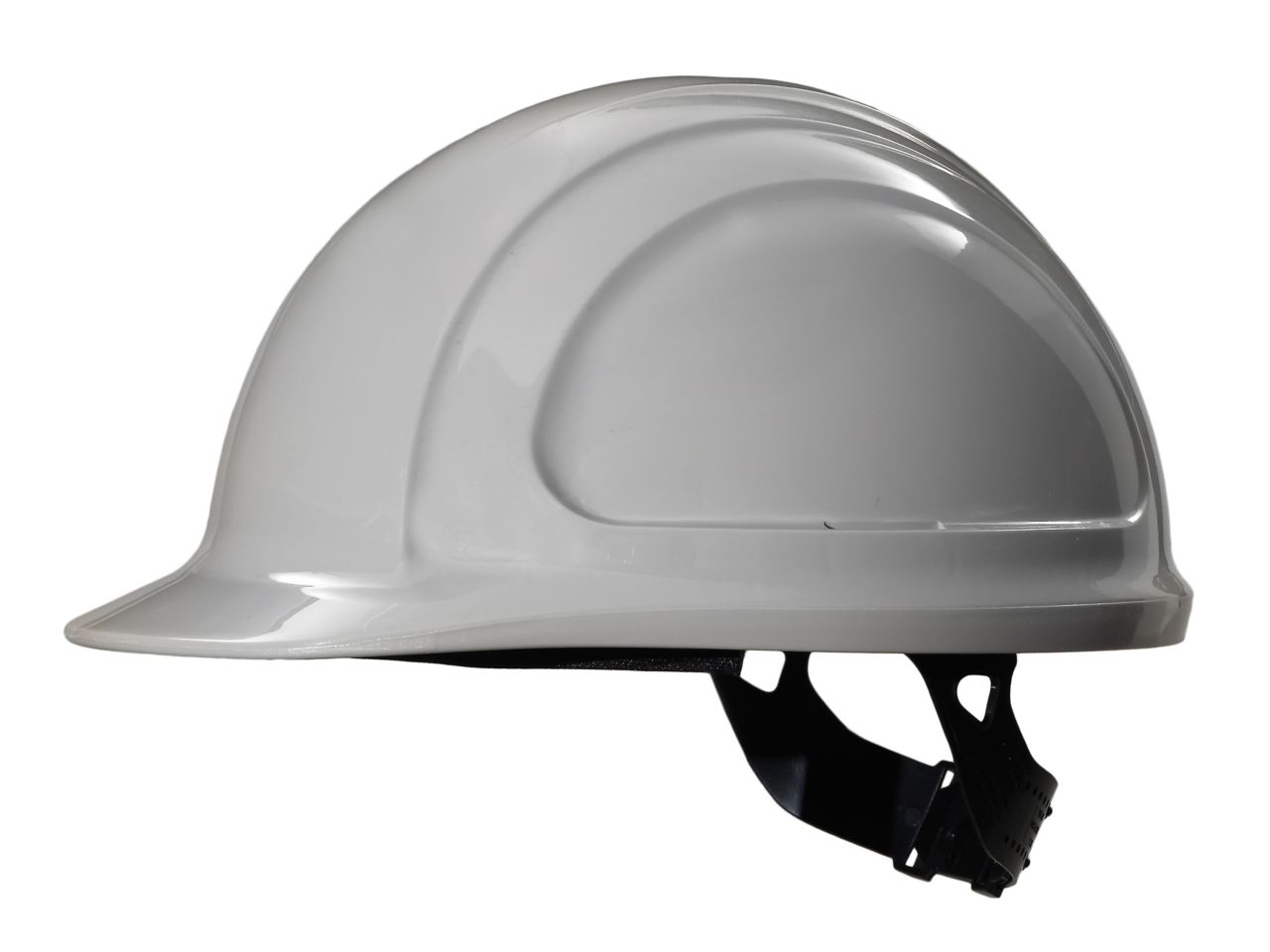 North Zone Hard Hat Gray Quick Fit