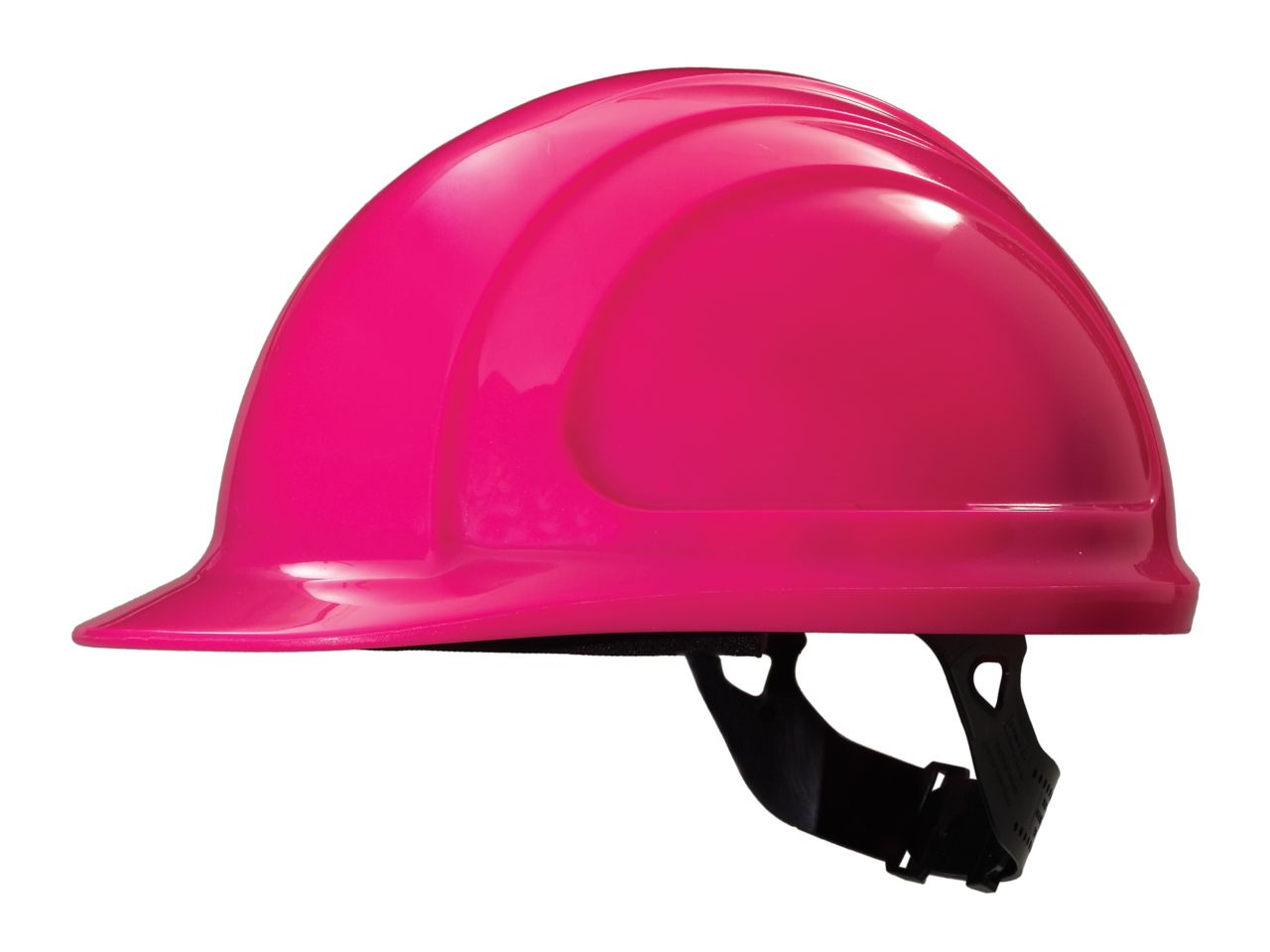 North Zone Hard Hat Hot Pink Quick Fit