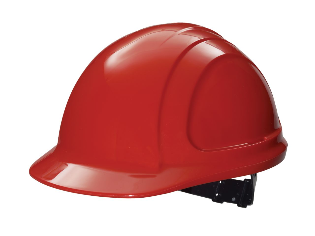 North Zone Hard Hat Red Quick fit