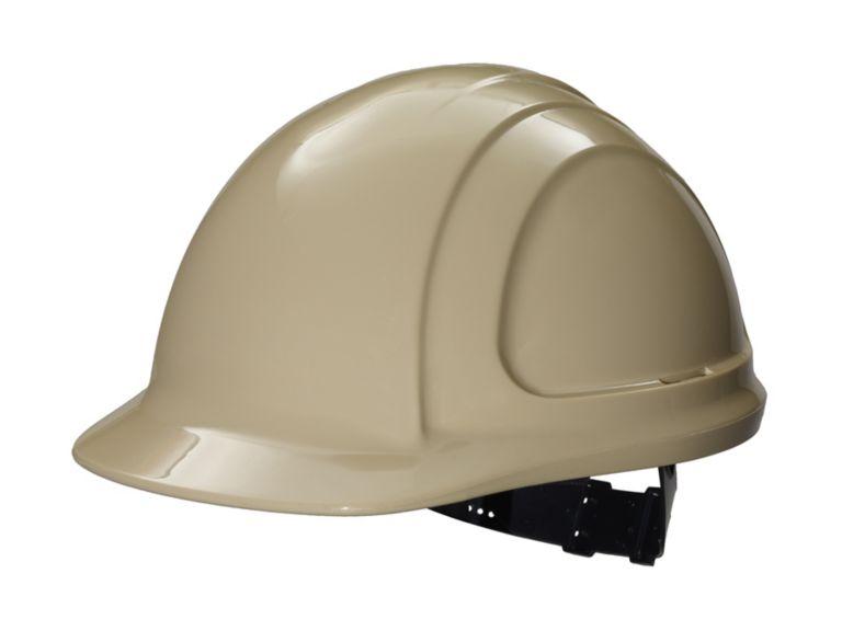 North Zone Hard Hat Tan Quick Fit