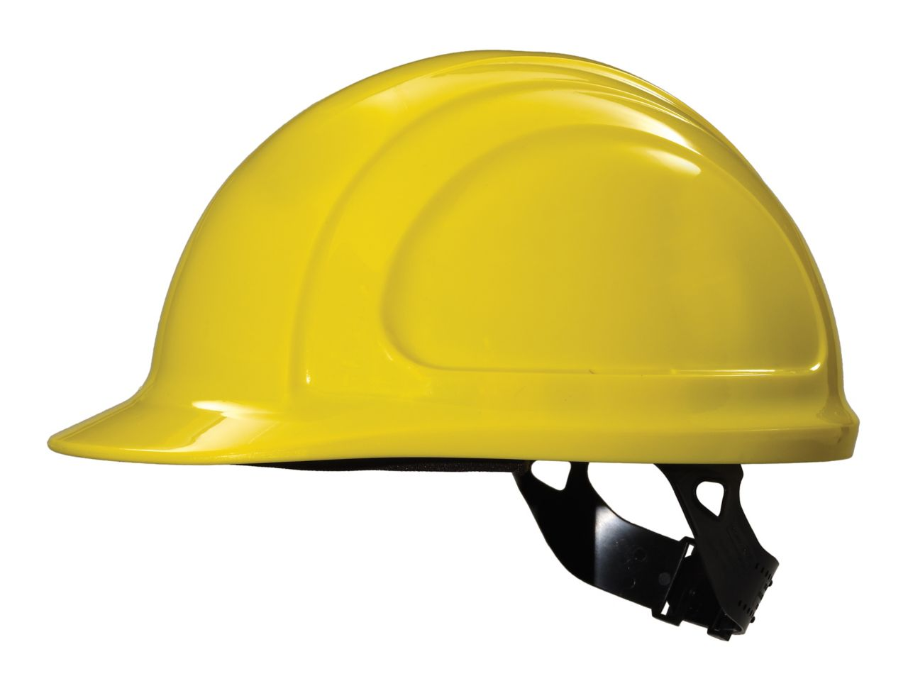 North Zone hard hat Yellow Quick Fit