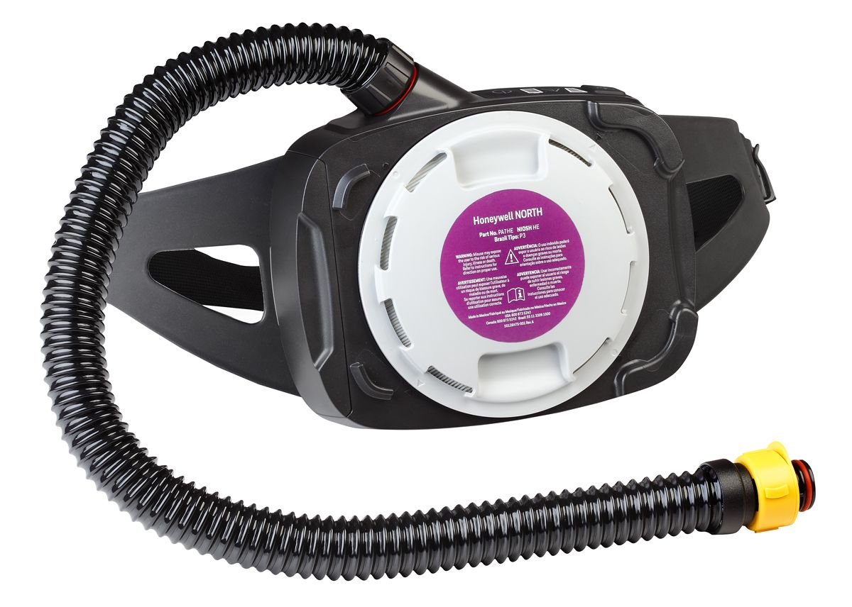 PA700 PAPR with Straight Breathing Tube, No Cover