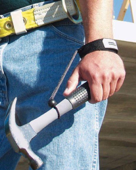 Prévention de chute d'objet (porte-outils)