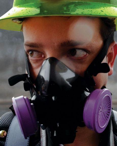 Appareil de protection respiratoire à épuration d'air