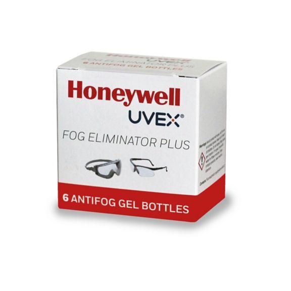 Uvex Clear Plus Antifog 6 Pack Gel