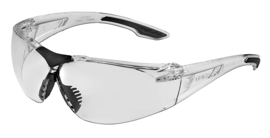 Uvex, SVP400, Clear Frame, Clear Lens HC