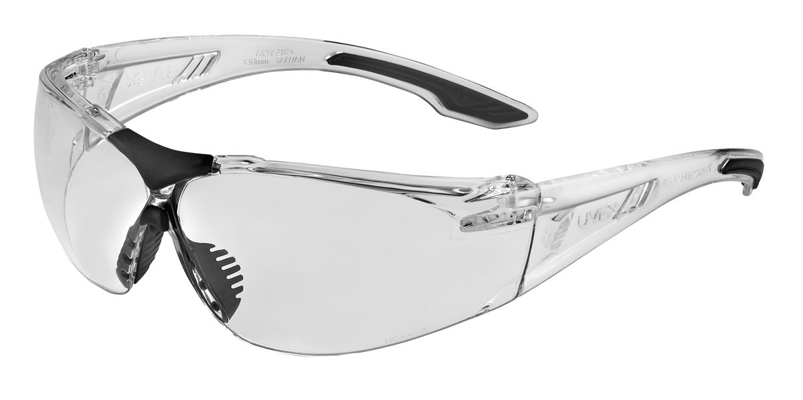 Uvex SVP401,Clear Frame, Clear Lens, AF