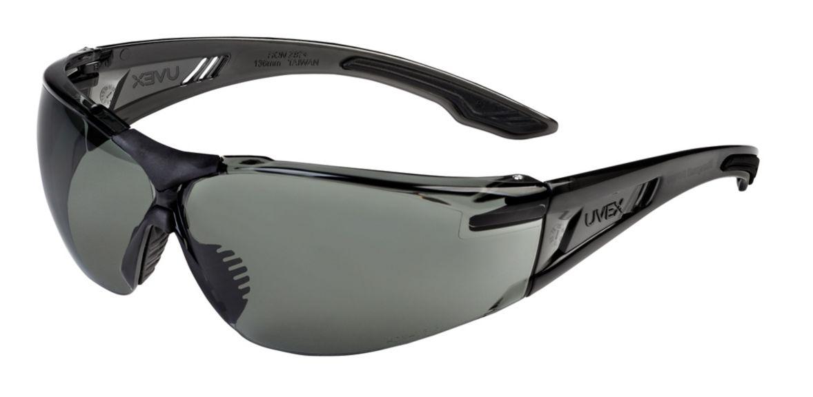 Uvex, SVP402, Gray Frame, Gray Lens, HC