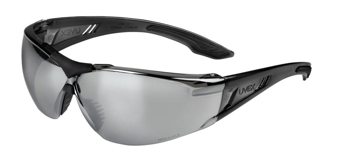 Uvex, SVP405, Gray Frame, Silver Mirror Lens HC
