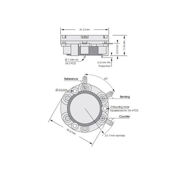 City Technology 3 Series sensor diagram