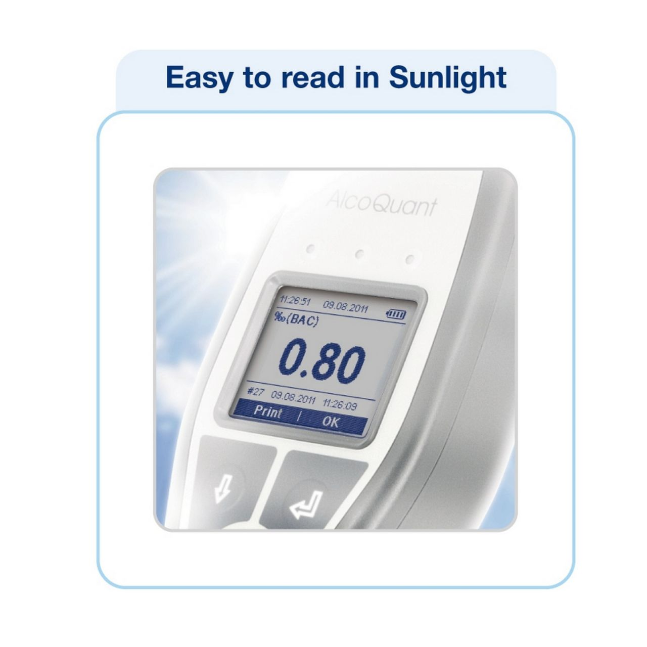 Product image AlcoQuant® 6020 plus (Easy to read in Sunlight)