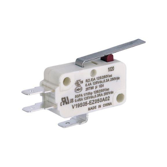 V19 Basic Switch V19S05-EZ-050A02 Label view