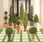 topiaries & artificial outdoor plants | improvements