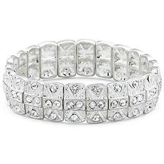 Vieste® Rhinestone Stretch Bracelet
