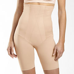 Underscore Plus High-Waist Firm Control Thigh Slimmers - 129-3529