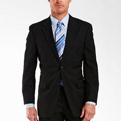 Adolfo® Black Suit Jacket - Portly