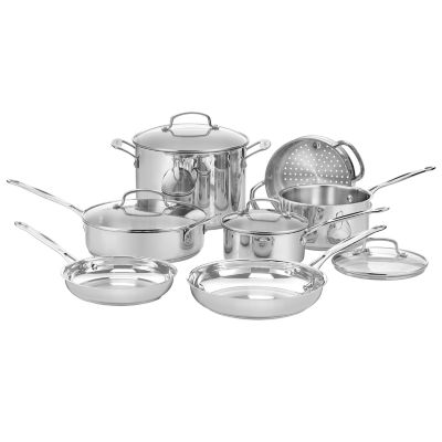 stainless steel cookware set - Calphalon Tri Ply Stainless Steel