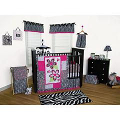 Trend Lab® Zahara Zebra Bedding and Accessories