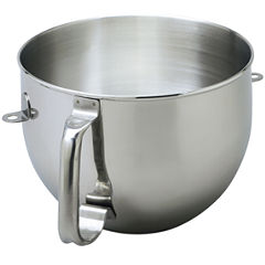 KitchenAid® 6 Quart Polished Stainless Steel Bowl with Comfort Handle KN2B6PEH