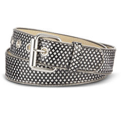 Relic® Glitter Zipper-Edge Belt