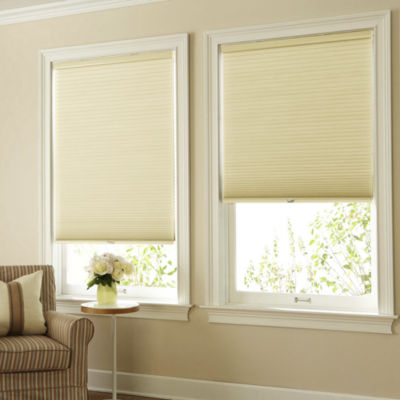 jcpenney home mirage blackout cordless cellular shade free swatch