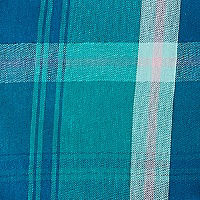 Lapis Green Plaid