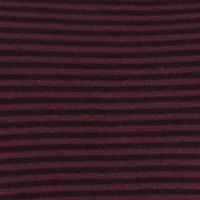 Wine Black Stripe