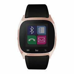 iTouch Black Rosegold Tone Smart Watch-JCI3160RG590-003