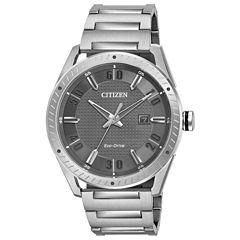 Drive from Citizen Mens Silver Tone Bracelet Watch-Bm6991-52h