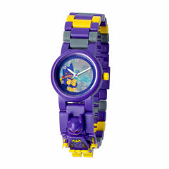 Lego The Lego Batman Movie Batgirl Girls Multicolor Strap Watch-8020844