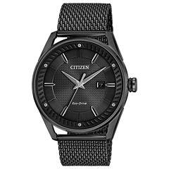 Drive from Citizen Mens Black Bracelet Watch-Bm6988-57e
