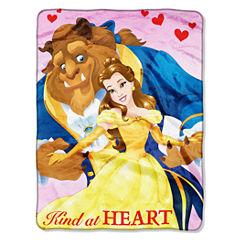 Disney Beauty and the Beast Throw