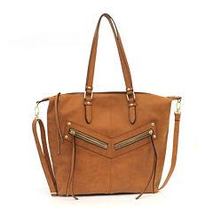 a.n.a Austin Top Zip Tote Bag