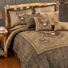 Blue Ridge Trading Whitetail Ridge Comforter Set Twin Heavyweight Comforter Set