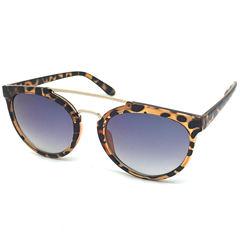 Fantas Eyes Half Frame Round Sunglasses