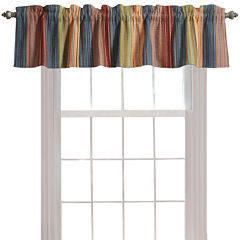 Greenland Home Fashions Katy Quilted Rod-Pocket Valance
