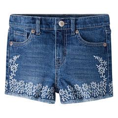 Levi's Denim At Waist Shortie Shorts - Preschool Girls