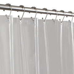 Maytex 5-Gauge PVC Shower Curtain Liner