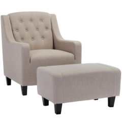 Upholstered Chair And Ottoman upholstered chairs & recliners for the home - jcpenney