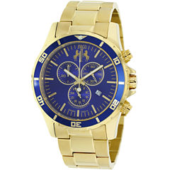 Jivago Mens Gold Tone Bracelet Watch-Jv6125