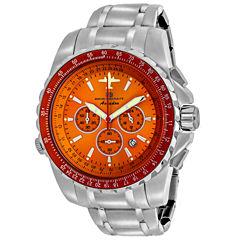 Oceanaut Mens Silver Tone Bracelet Watch-Oc0115