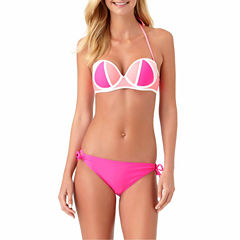 Arizona Bandeau Swimsuit Top or Side Tie Bottom-Juniors