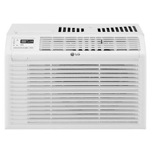 LG 6,000 BTU 115V Window Air Conditioner with Remote